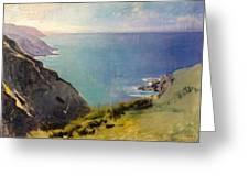 Cornish Headlands  Greeting Card