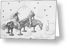 Cosmic Cowboys Greeting Card