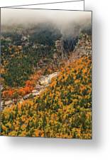 Crawford Notch Fall Foliage Greeting Card