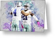 Dallas Cowboys. Greeting Card