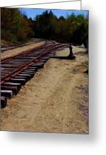 Ellsworth Tracks  Greeting Card