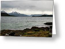 Ensenada Bay, Tierra Del Fuego National Park, Ushuaia, Argentina Greeting Card