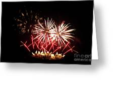 Firework Display Greeting Card