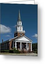 First Baptist Church Myrtle Beach S C Greeting Card