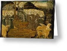 Goddess Of Chaste Love  Greeting Card