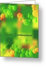 Green Environment Greeting Card