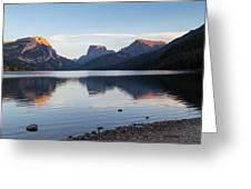 Green River Lake Greeting Card by Michael Chatt