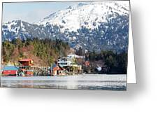 Halibut Cove Kenai Peninsula Alaska Greeting Card