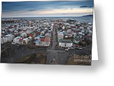 Hallgrimskirkja Greeting Card