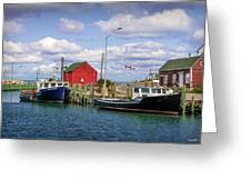 Hall's Harbour 01 Greeting Card