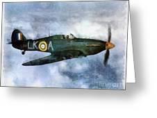 Hawker Hurricane, Wwii Greeting Card