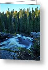 Hepokongas Waterfall Greeting Card