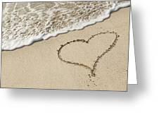 I Love The Beach Greeting Card