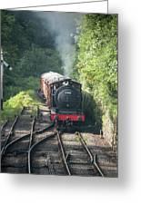 J27 Locomotive 65894 On North York Moors Railway Greeting Card