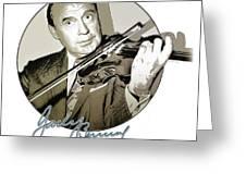 Jack Benny Greeting Card