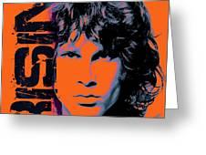 Jim Morrison, The Doors Greeting Card