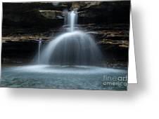 Kings River Falls Greeting Card
