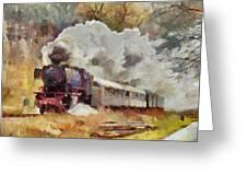 Kylltal Railway  Greeting Card