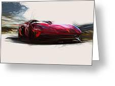 Lamborghini Aventador J Draw Digital Art By Carstoon Concept
