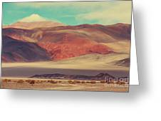 Landscapes Of Northern Argentina Greeting Card
