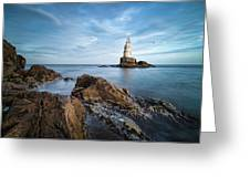 Lighthouse In Ahtopol, Bulgaria Greeting Card