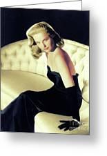 Martha Hyer, Vintage Actress Greeting Card