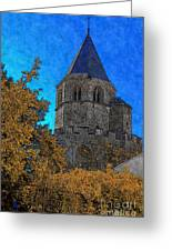 Medieval Bell Tower 6 Greeting Card