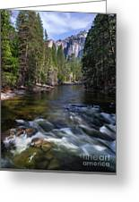 Merced River, Yosemite National Park Greeting Card