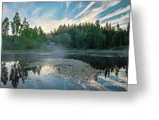 Midsummer's Morning Greeting Card