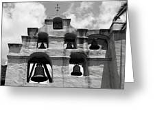 Mission Bells Greeting Card