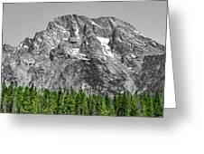 Mountain Rising Greeting Card