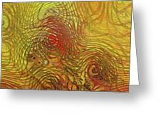 My Colorful World Greeting Card