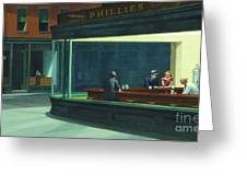Nighthawks, 1942  Greeting Card