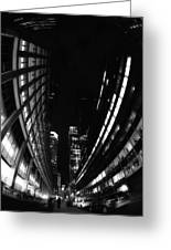Nyc In Black And White Vii Greeting Card