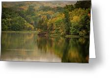 October Reflections Oct 2nd Greeting Card by Jeff Phillippi