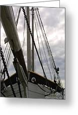 Old Viking Vessel Greeting Card