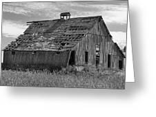 Palouse Barn 9933 Greeting Card