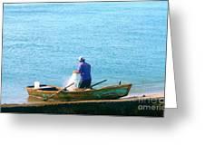 Pescador Greeting Card