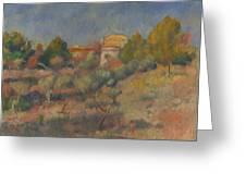 Pierre Auguste Renoir  Greeting Card