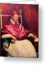 Pope Innocent X Greeting Card