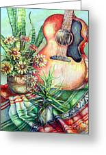 Room For Guitar Greeting Card