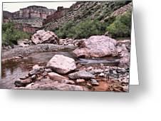 Salt River Canyon Arizona Greeting Card