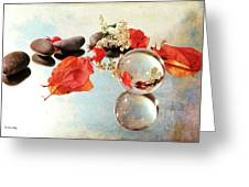 Seasons In A Bubble Greeting Card