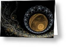 Somewhere In The Universe-2 Greeting Card