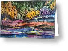 Spring Impression Greeting Card