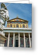 St. Paul Outside The Walls Greeting Card
