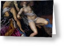 Tarquin And Lucretia Greeting Card
