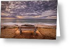 The Bench 2019 Edit Greeting Card