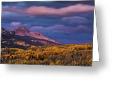 The Whisper Of Clouds Greeting Card by John De Bord