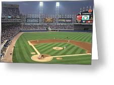 Usa, Illinois, Chicago, White Sox Greeting Card